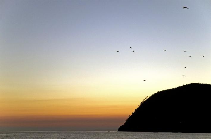 Levanto Sonnenuntergang